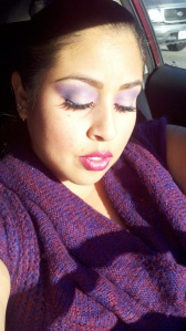 Makeup done by me.