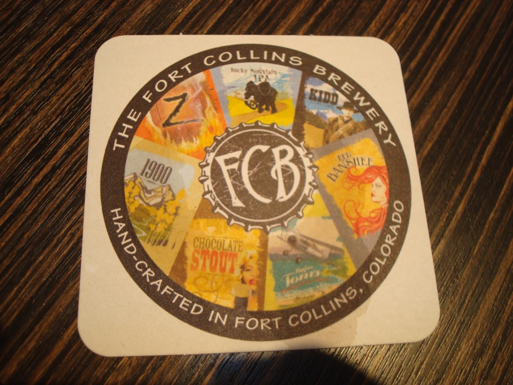 Fort Collins Brewery - Coaster