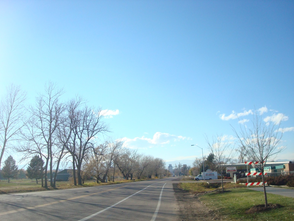 Our walk back to Downtown Fort Collins