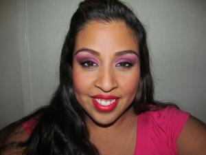 Valentine's Day 2012. Makeup by me.