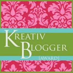 Kreative Blogger Award. Pay it forward.